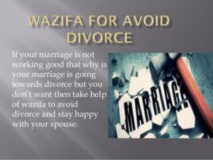 Wazifa for Getting Divorced in Urdu